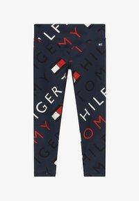 Tommy Hilfiger - SPORTS PRINTED LOGO - Leggings - blue - 2