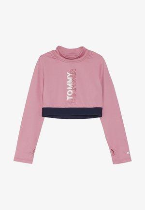 SPORT CROPPED LOGO  - Maglietta a manica lunga - cashmere rose