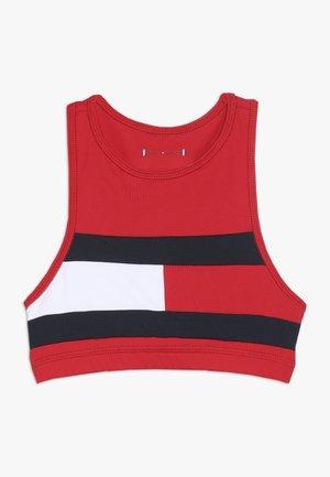SPORT FLAG TOP - Sportovní podprsenka - haute red