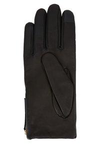 Tommy Hilfiger - CORPORATE DETAIL GLOVES - Gloves - black - 2