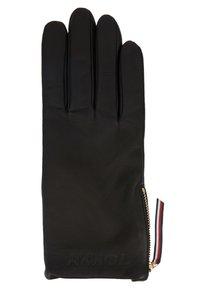 Tommy Hilfiger - CORPORATE DETAIL GLOVES - Gloves - black - 1
