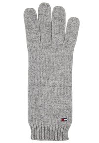 Tommy Hilfiger - FLAG KNIT GLOVES - Gants - grey - 2