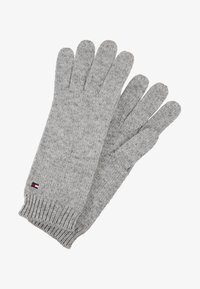 Tommy Hilfiger - FLAG KNIT GLOVES - Gants - grey - 1