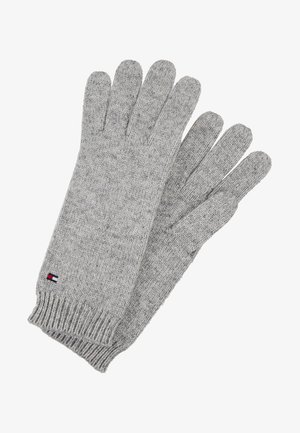 FLAG KNIT GLOVES - Gloves - grey