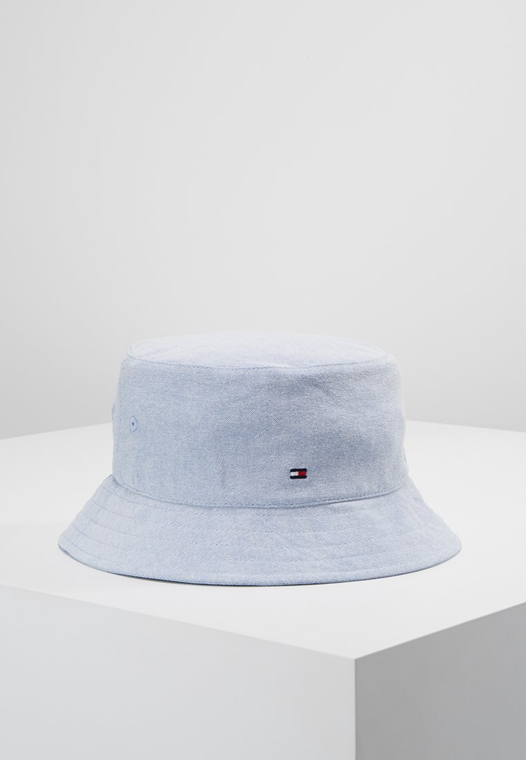 Tommy Hilfiger - CHAMBRAY BUCKET HAT - Hattu - blue