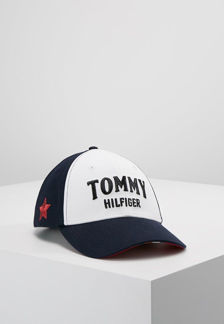 Tommy Hilfiger - BOLD TOMMY CAP - Czapka z daszkiem - blue