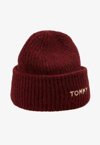 Tommy Hilfiger - EFFORTLESS BEANIE - Čepice - red - 3