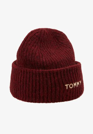 EFFORTLESS BEANIE - Beanie - red