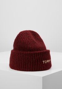 Tommy Hilfiger - EFFORTLESS BEANIE - Čepice - red - 1