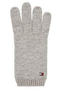 Tommy Hilfiger - FLAG BEANIE & GLOVES SET - Rękawiczki pięciopalcowe - grey - 3