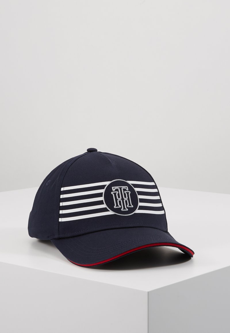 Tommy Hilfiger - POPPY BRETON STRIPES  - Cap - blue