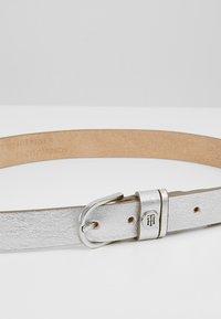 Tommy Hilfiger - CLASSIC BELT - Ceinture - silver - 4