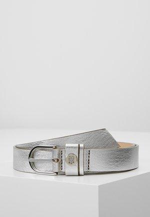 CLASSIC BELT - Ceinture - silver