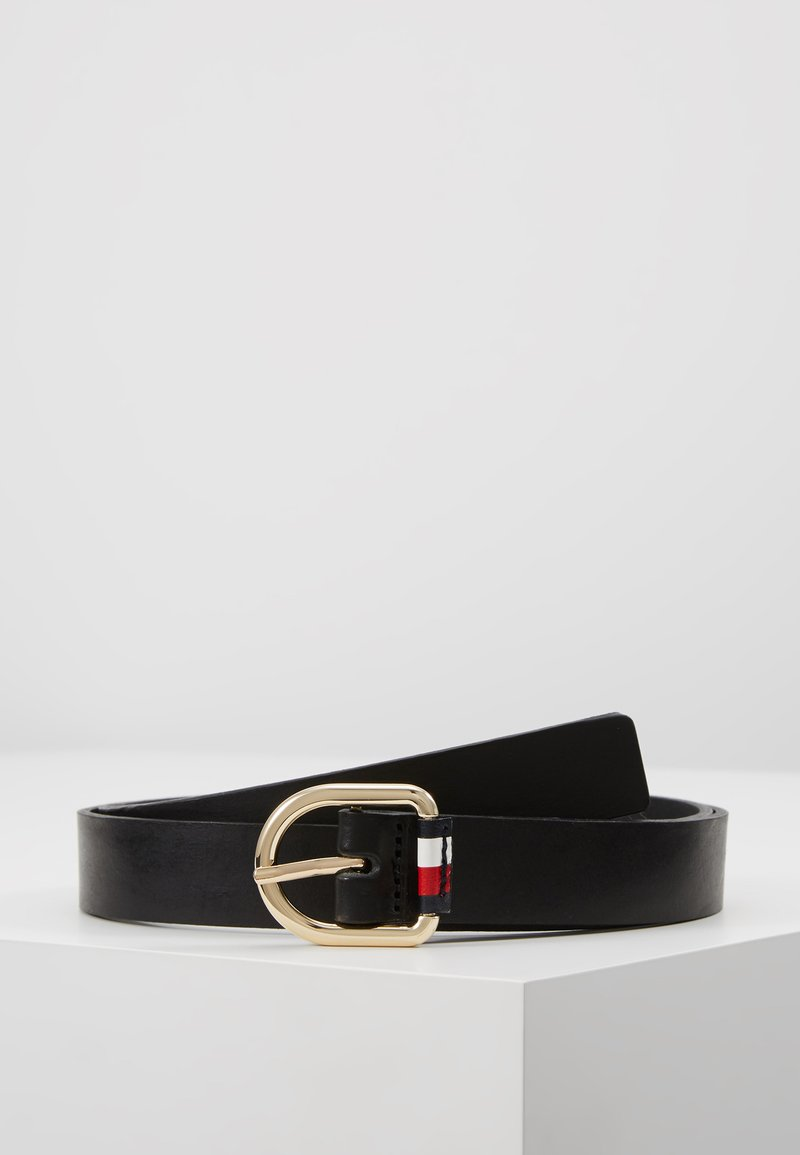 Tommy Hilfiger - CORPORATE BELT - Skärp - black