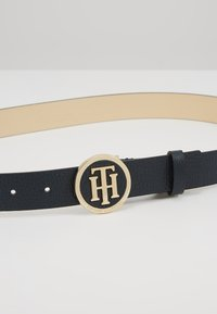 Tommy Hilfiger - ROUND BUCKLE BELT - Skärp - blue - 4