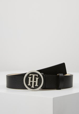 ROUND BUCKLE BELT - Gürtel - black