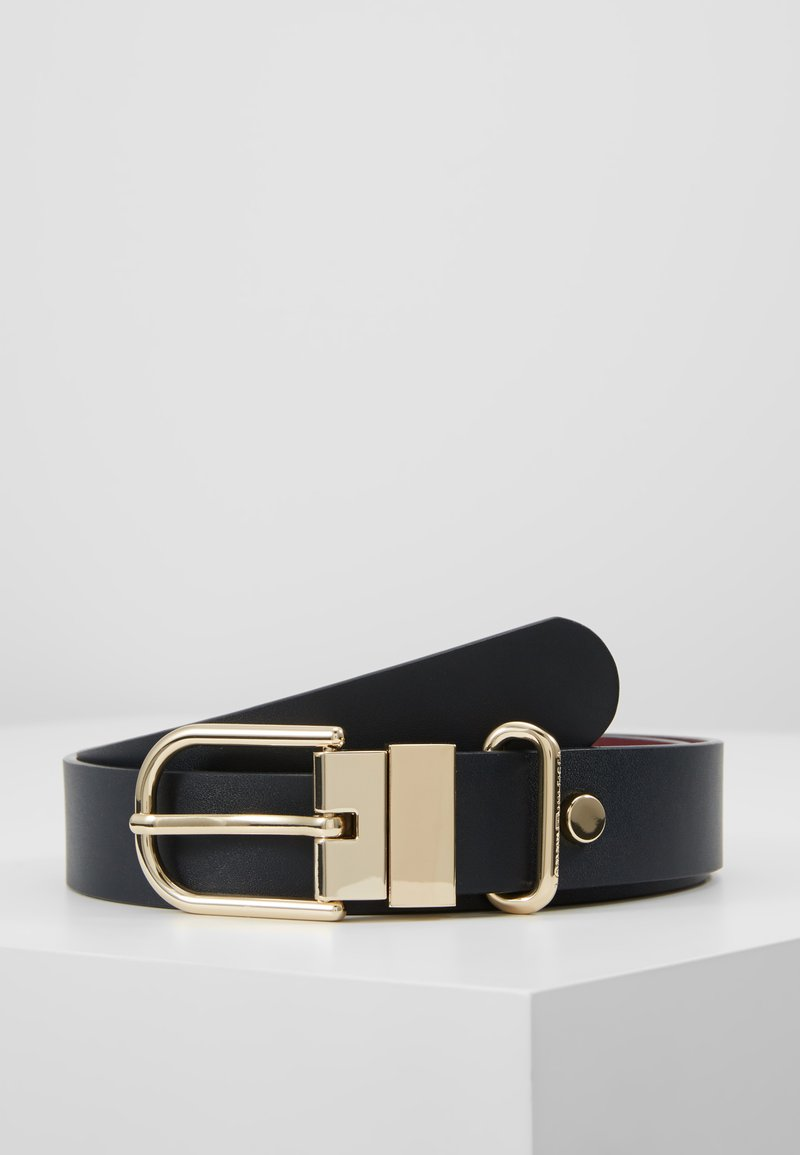 Tommy Hilfiger - NEW FANCY REVERSIBLE BELT - Belte - blue