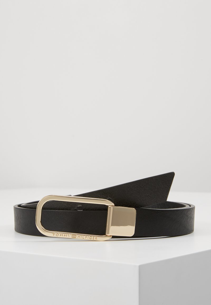 Tommy Hilfiger - ELEVATED BELT - Vyö - black