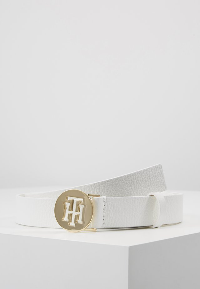 ROUND BELT  - Belt - white