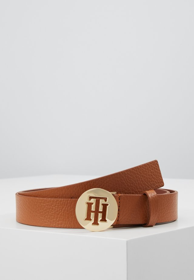 ROUND BELT  - Riem - brown