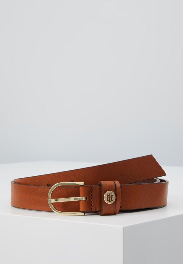 CLASSIC - Pasek - brown