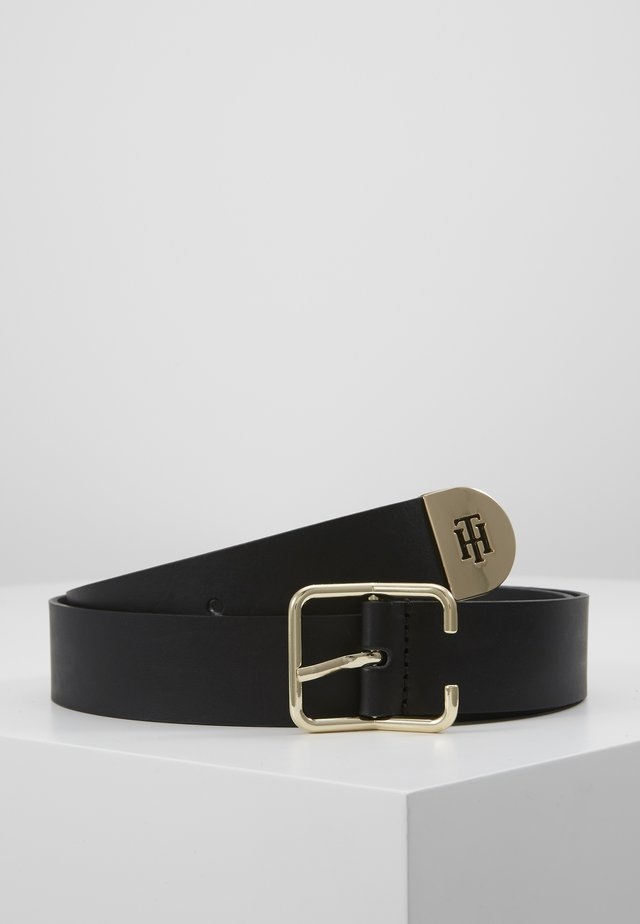 NEW BUCKLE BELT - Pásek - black