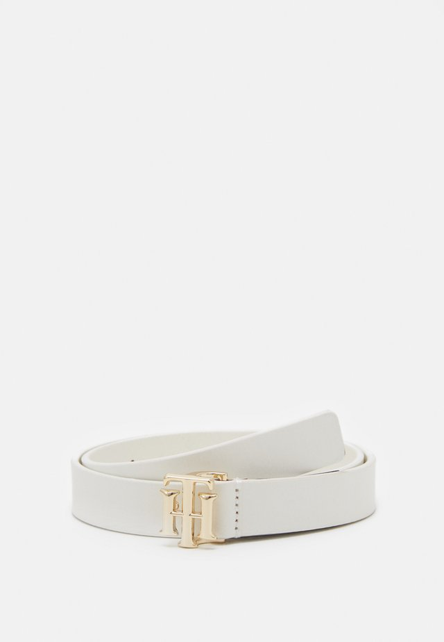 LOGO BELT - Skärp - white