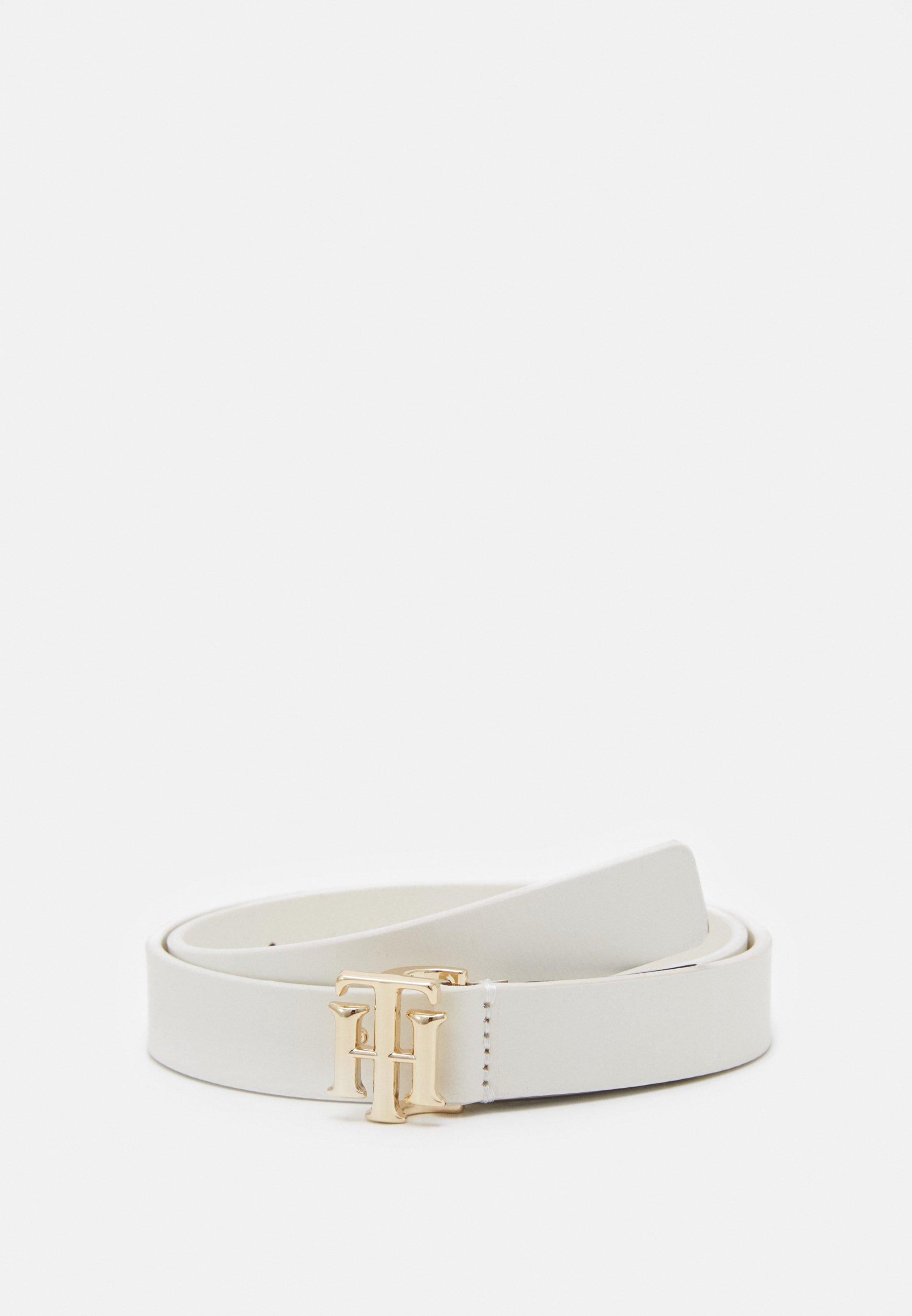 LOGO BELT Waist belt white