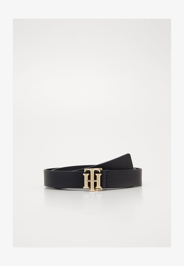 LOGO BELT - Waist belt - blue