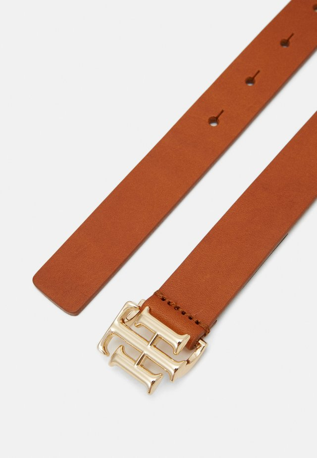 LOGO BELT - Tailleriem - brown