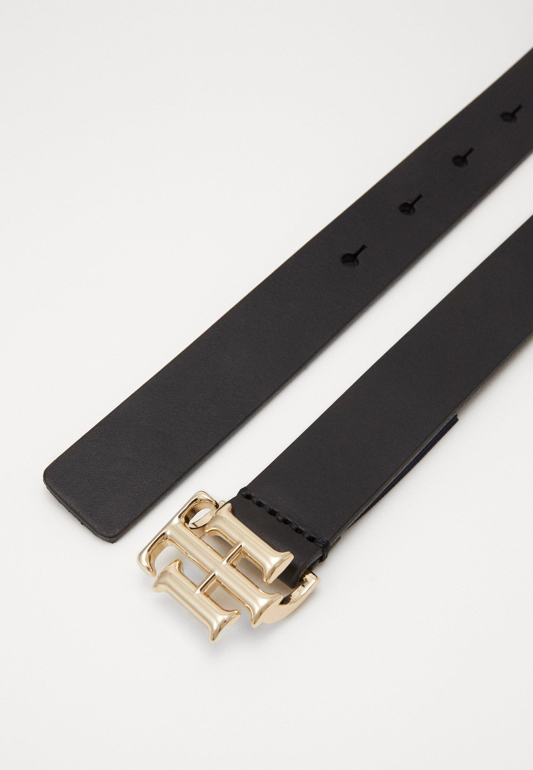 LOGO BELT Waist belt black