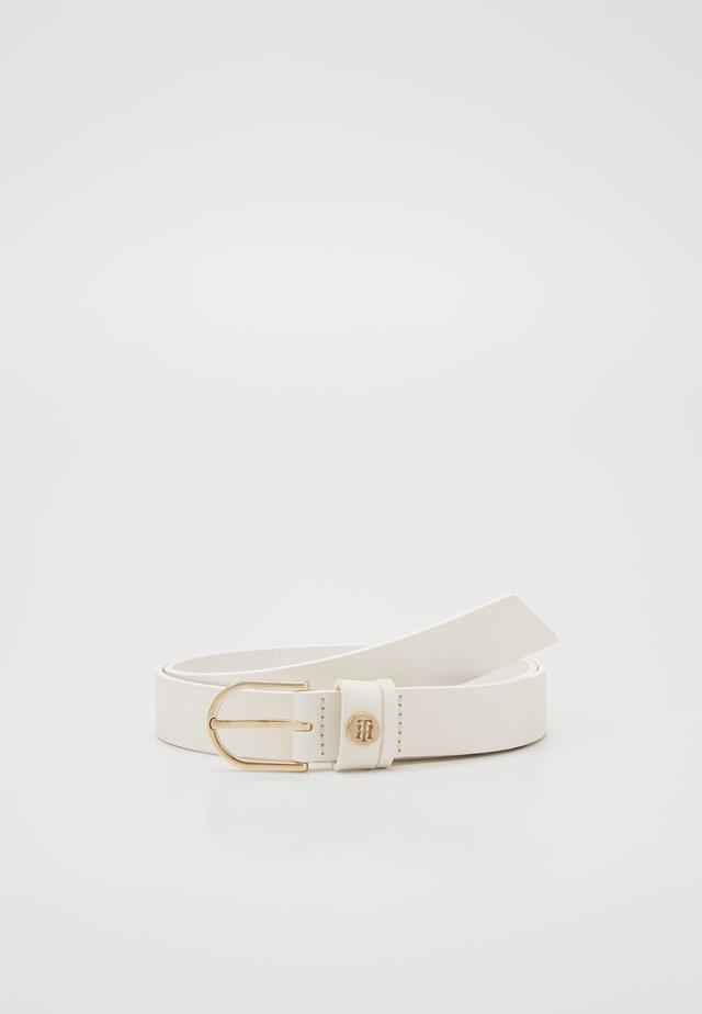 CLASSIC BELT  - Belt - white