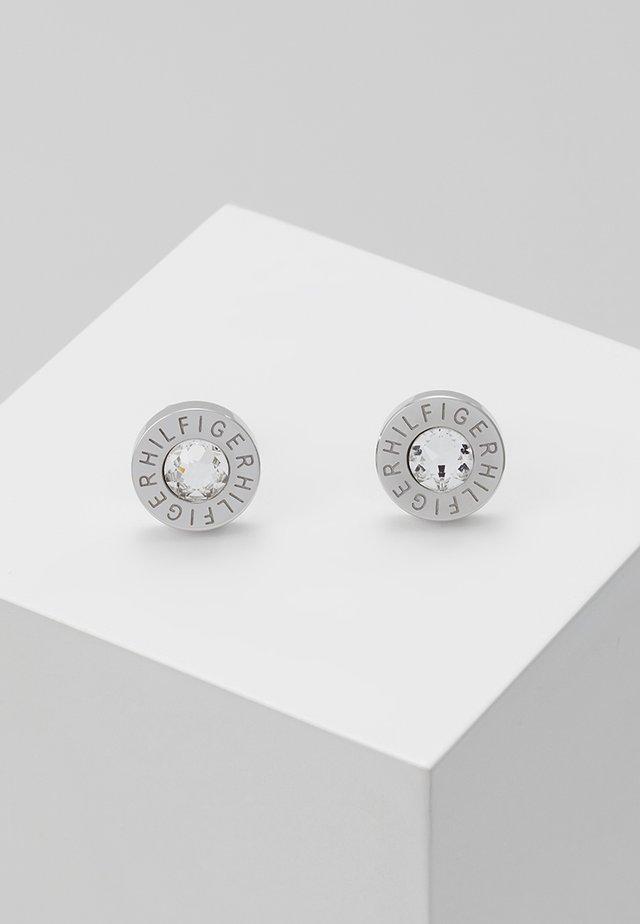 Earrings - zirkonia weiß