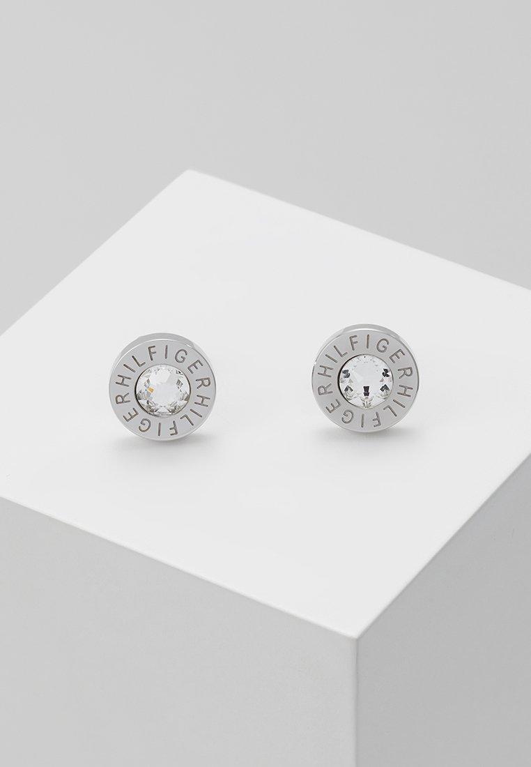 Tommy Hilfiger - Earrings - zirkonia weiß