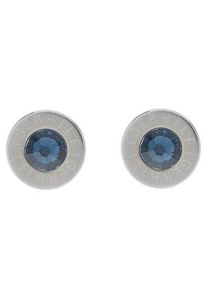 Earrings - zirkonia blau