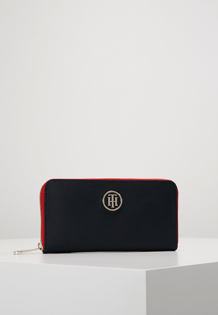 Tommy Hilfiger - POPPY WALLET - Wallet - blue