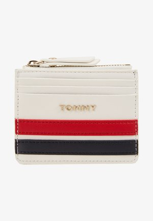 TOMMY STAPLE CC HOLDER - Lommebok - white