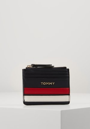 TOMMY STAPLE CC HOLDER - Peněženka - blue
