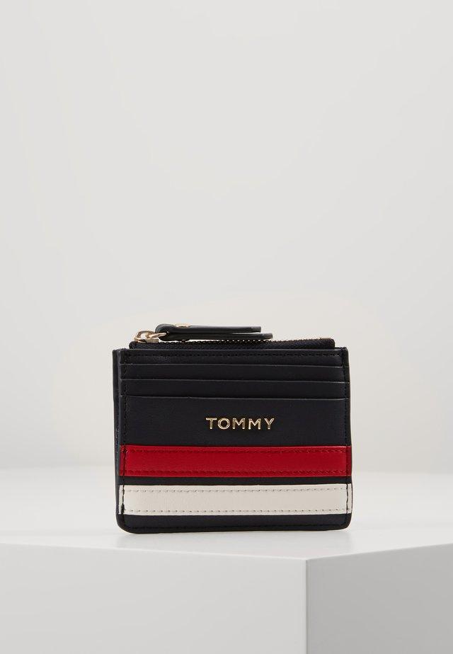 TOMMY STAPLE CC HOLDER - Plånbok - blue