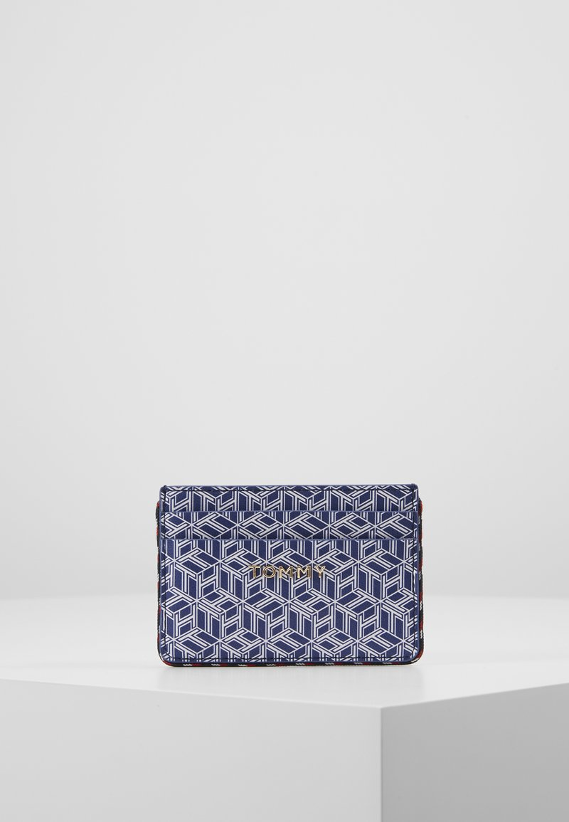 Tommy Hilfiger - ICONIC MONO - Business card holder - blue