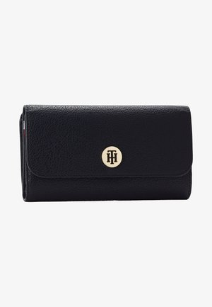 CORE LARGE FLAP WALLET - Portemonnee - dark blue