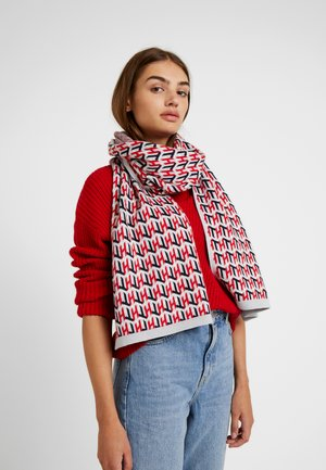 CUBE SCARF - Scarf - red