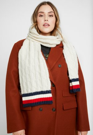 CABLE SCARF - Sjaal - white