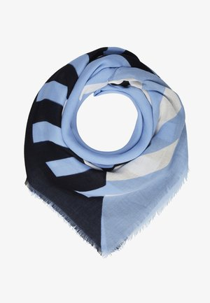 STAPLE SQUARE - Halsdoek - blue