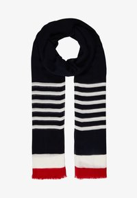 Tommy Hilfiger - POPPY BRETON STRIPES SCARF - Sjal - blue - 1