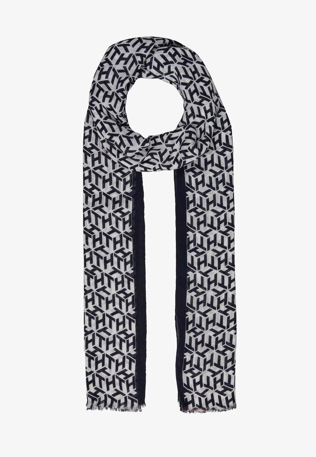 ICONIC CORPORATE SCARF - Scarf - blue