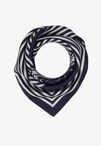Tommy Hilfiger - ICONIC STRIPES BANDANA - Šátek - blue