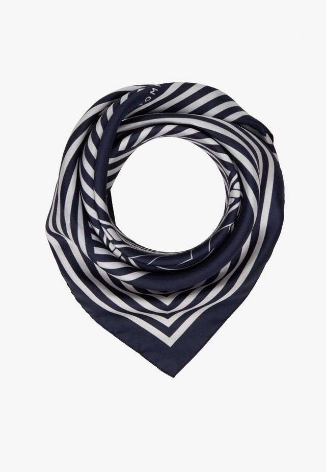 ICONIC STRIPES BANDANA - Foulard - blue