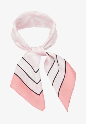 MONOGRAM FRAME SQUARE - Halsdoek - pink