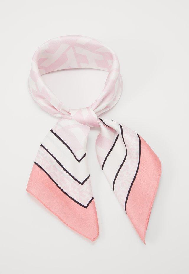 MONOGRAM FRAME SQUARE - Tørklæde / Halstørklæder - pink